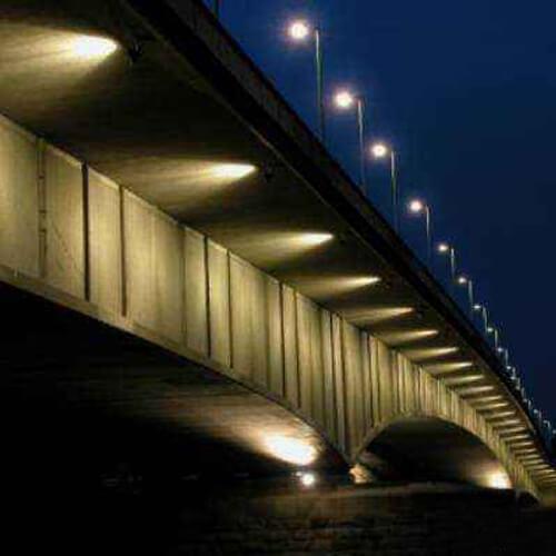 bridge outdoor projector decoration