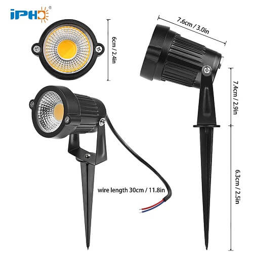 3w outdoor carriage lights