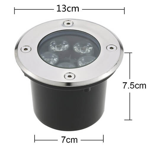 5w led in ground path light