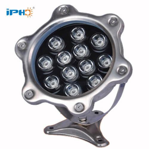 12w ip68 led underwater light