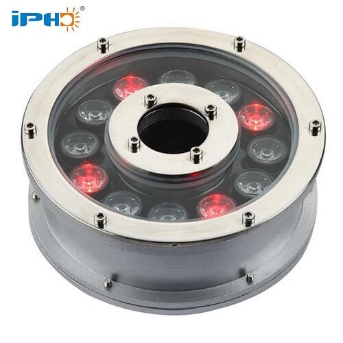 12w rgb underwater fountain lights