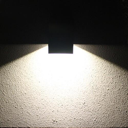 led garden wall lights waterproof