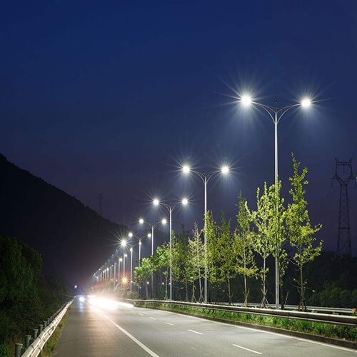 road street light