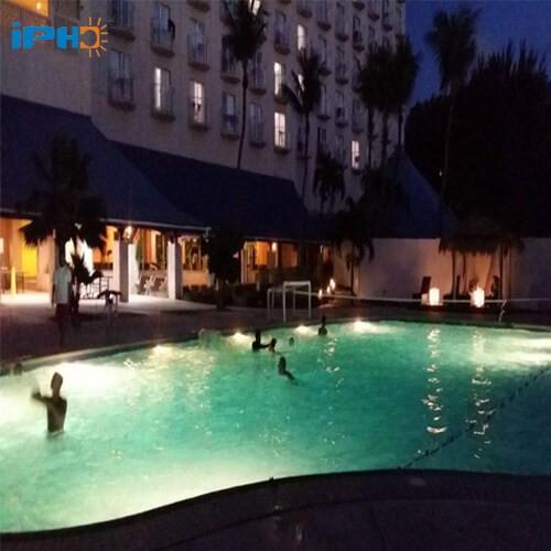 decorative outdoor pool lights