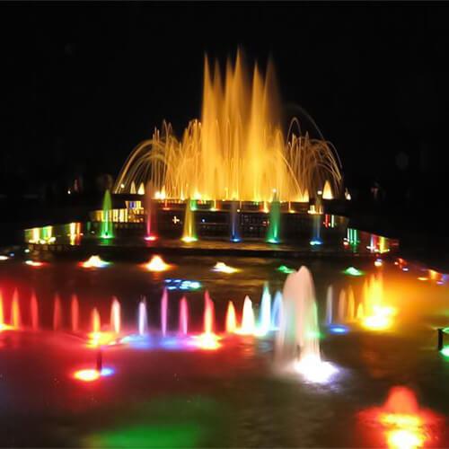 led fountain lamp