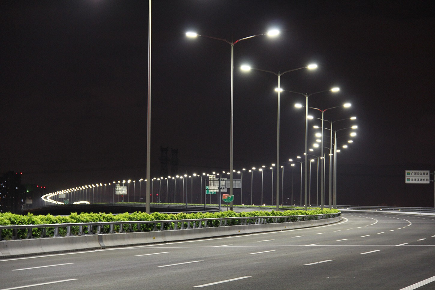 led road street lamp