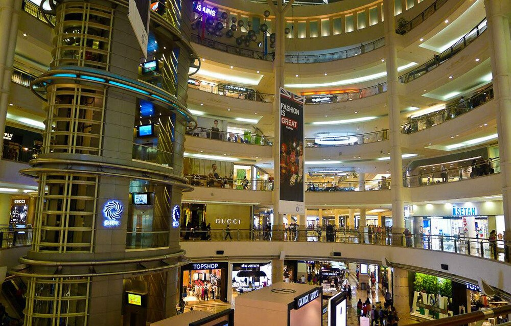 led lights for shopping mall
